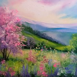 spring-in-the-carpathians-olha-darchuk